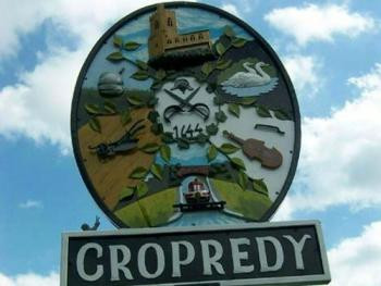 The Cropredy Village Sign