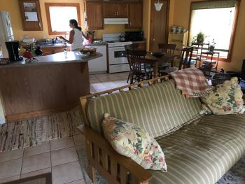 Cottage Living, Dining, Kitchen Rooms