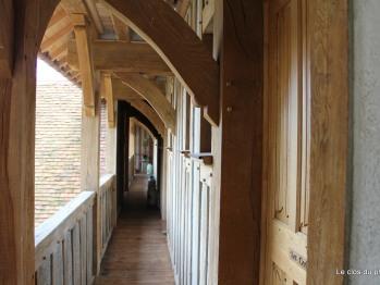Accès aux chambres d'hôtes - Le Manoir - Domaine le Clos du Phare