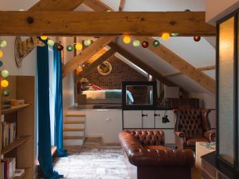 Suite loft de 70 m²