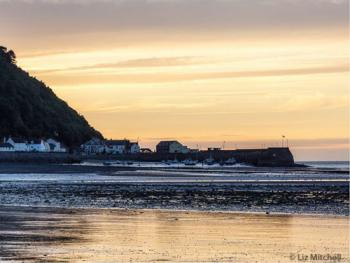 The Harbour at The Old Ship Aground Minehead