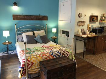 Roland's Loft bedroom