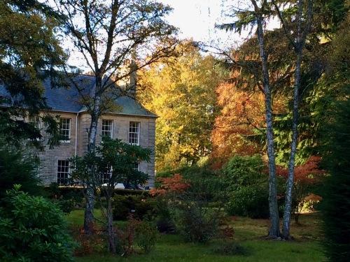 Any season provides beautiful colours at  Blervie