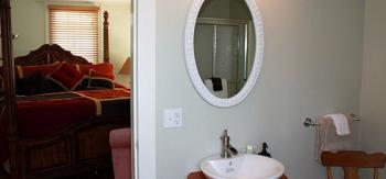 Wellsboro Room Bathroom at 131 Main