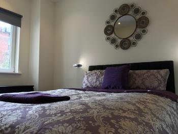 Leamington Spa Serviced Apartments - Villiers House - Bedroom