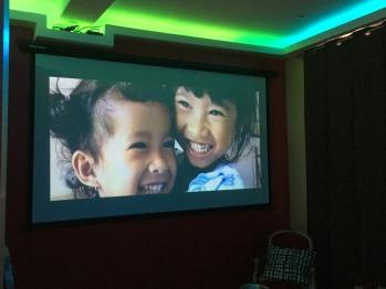 écran géant cinéma