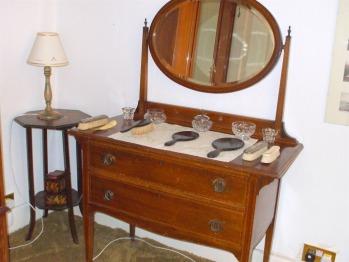 Edwardian dressing-table, Ainslie Bedroom, Carlton Seamill