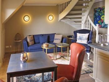 Gästenzimmer mit freier Sicht auf das Meer