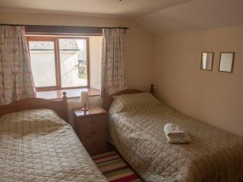 Upstairs bedroom in Frankaborough cottage