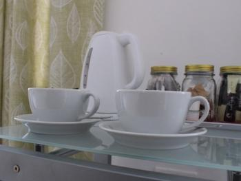 All rooms come with tea/coffee facilities.