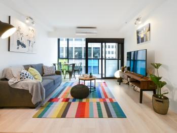 Apartment-Private Bathroom-Balcony - Unit 406 - Apartment-Private Bathroom-Balcony - Unit 406