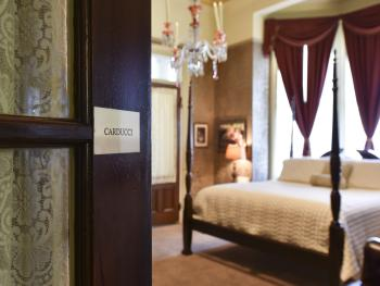 Reveal the Victorian elegance of the Carducci Suite