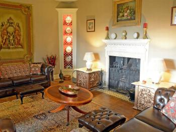 The Drawing Room - Old world charm reminiscent of a bygone era.