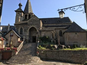L'église Saint-Fleuret à Estaing
