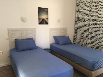 Gite LATECOERE - Chambre deux lits 90