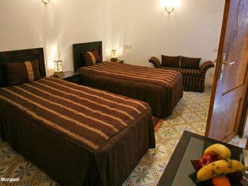 Double-Standard-Salle de bain Privée-Chambre Marron