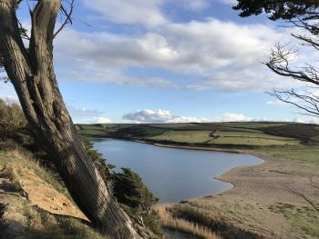Loe Bar a lovely place for a walk