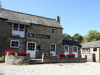 The St. Tinney Arms offers a warm welcome for all ages serving fresh locally produced food and drink every evening
