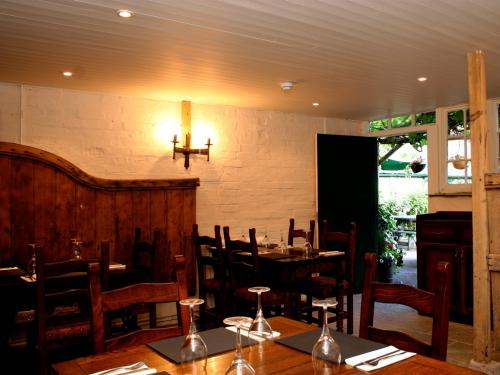 The stable dining room.