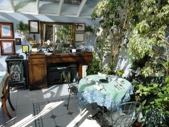 Breakfast in our conservatory