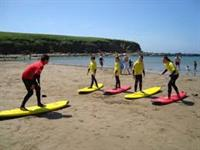 Surfing lessons Bantham Surfing Academy 8.2 miles