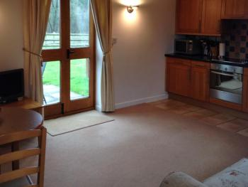 One bedroom cottage open plan lounge/diner & kitchen