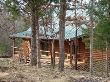 Log Cabin-Private Bathroom-Premier-Countryside view-Secret Cove Cabin
