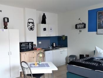 Studio-Komfort-Eigenes Badezimmer-Apartment EG - Standardpreis