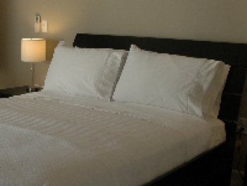 Sink into our ultra plush mattresses with hand ironed silky Egyptian sheets and extra pillows.