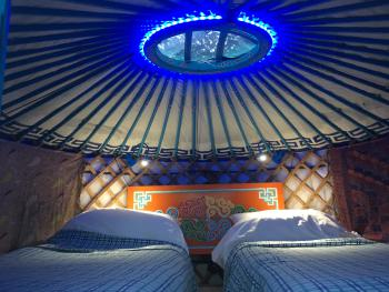 Baby Blue Children's Yurt