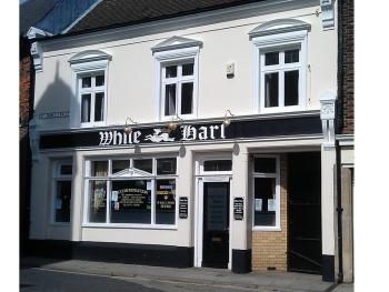 The White Hart - Front of Pub.