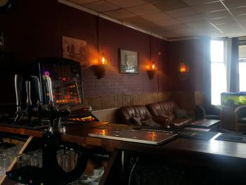 Our comfy lounge bar