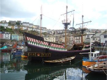 The pirate ship at Brixham