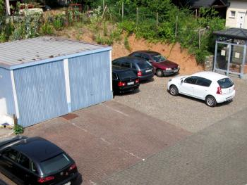 Parkplätze für die Ferienwohnungen