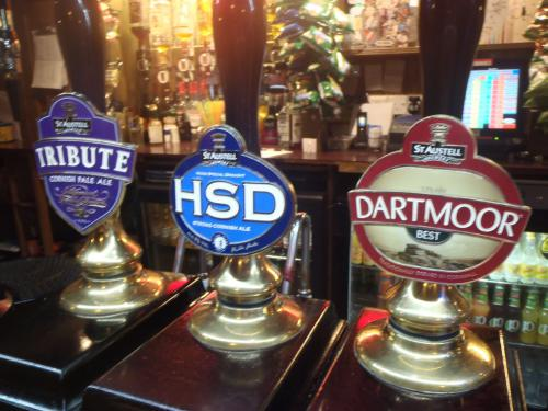 St Austell cask conditioned ales