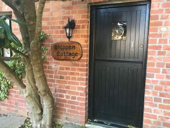 Shippen Cottage - Boswell Farm Cottages - Front Door