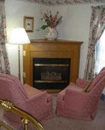 Tea Rose Fireplace