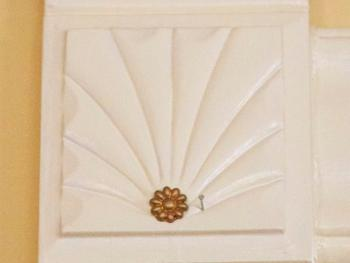 Detail work of  interior Moulding