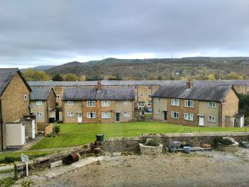 View from Rear of building over Rombalds Moor