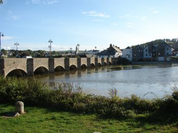 The Old Bridge at Wadebridge North Cornwall @Linda Harbuck