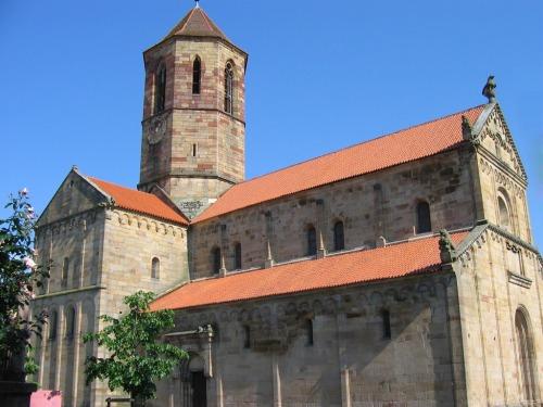 L'église Romane de Rosheim - 12ème siècle