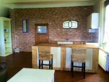 Wohnzimmer mit Essbereich, Sitzecke