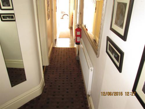 view of entrance hallway