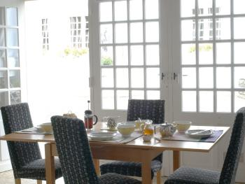 All self catering units have a interior dining area and allocated exterior dining area