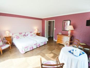 Double-Confort-Salle de bain Privée-La Rose Parme