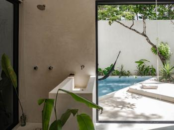 Double room-Ensuite-Pool View-16TULUM Room #6 - Base Rate