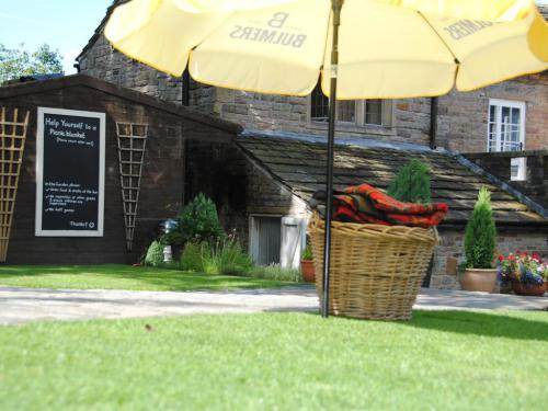 Picnic Blankets in the Old Hall Beer Garden