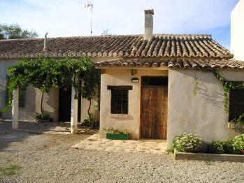 Fachada exterior entrada casas rurales