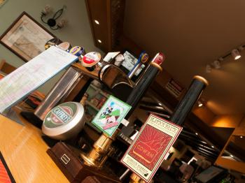 Bar - Serving a great variety of Beers, Lagers, Real Ales, Wines & Minerals