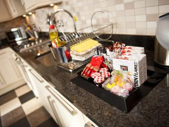 Welcome Pack in Kitchen